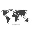 world map - gray concept can be used like vector image vector image