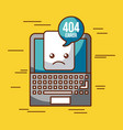 404 error background vector image