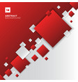 abstract red and white gradient diagonal separate