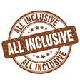 all inclusive vector image vector image