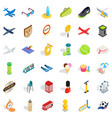 ball icons set isometric style vector image vector image