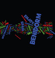 enjoy a fabulous holiday in benidorm spain text vector image vector image