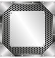 metal vector image vector image