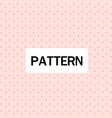 modern cross design pattern pink background vector image