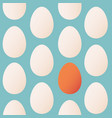 seamless pattern trendy colors for easter with egg vector image