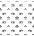 System blocks of computers pattern simple style vector image vector image