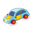 toy car cartoon vector image vector image