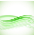 abstract modern halftone green background vector image vector image