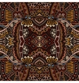 Abstract vintage grunge ethnic tribal design vector image vector image