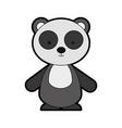 animal panda cartoon vector image