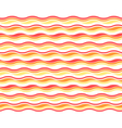 Bright abstract seamless horizontal wave pattern vector image