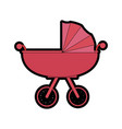 car for baby cartoon vector image