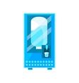 Clean Water Vending Machine Design vector image