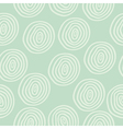 Seamless retro colored circle background vector image vector image