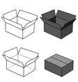 Box vector image vector image