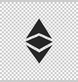 cryptocurrency coin ethereum classic etc icon vector image vector image