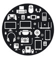 devices concept icon vector image