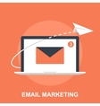 Email Marketing vector image