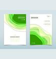 modern design business brochure vector image vector image