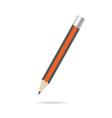 pencil wooden in color design art vector image
