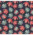sweater pattern vector image vector image