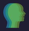 concept different personalities capabilities vector image