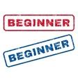 Beginner Rubber Stamps vector image vector image