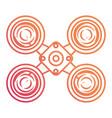 drone icon image vector image
