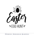 easter greeting text composition vector image