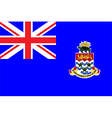 Flag of cayman islands vector image vector image