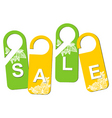 retail tags vector image vector image