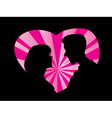 Silhouette of couple love