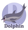 ABC Cartoon Dolphin2 vector image vector image