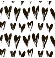 beautiful seamless heart pattern vector image vector image