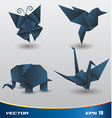 Origami paper vector | Price: 1 Credit (USD $1)