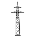 power transmission tower vector image