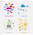 Set of modern stickers Fashion vector image vector image