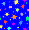 Texture with stars vector image vector image