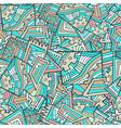 bright graffiti seamless pattern vector image