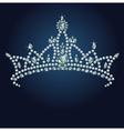 16 tiara bg001 vector image vector image