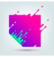 Abstract Colored Square vector image