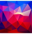 Bright geometric background vector image