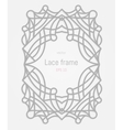 Decorative frame and border vector image vector image