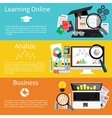 learning online analize and business