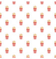 popcorn pattern seamless vector image