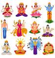 indian god hindu godhead goddess vector image