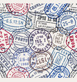 Postal stamps seamless pattern background