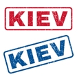 Kiev Rubber Stamps vector image vector image