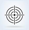 purpose accuracy icon simple modern design
