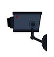 security or surveillance camera icon image vector image